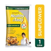 Emami Healthy And Tasty Refined Sunflower Oil (1LTR)