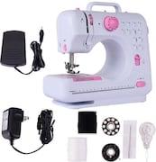 Wonder World Heavy Duty Mini Electric Sewing Machine (White)