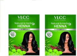 VLCC Henna Natural Hair Color (350ML, Pack of 2)