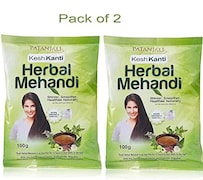 Patanjali Herbal Mehandi (100GM, Pack of 2)