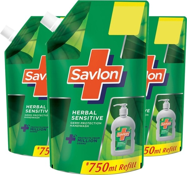 Savlon Herbal Sensitive Germ Protection Hand Wash (750ML)