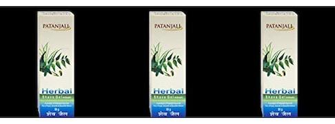 Patanjali Herbal Shave Gel (Pack of 3)