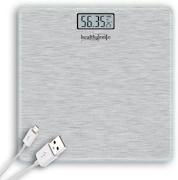 Healthgenie HG-14448 Digital Weighing Scale (Silver)