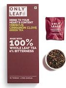 Onlyleaf Hibiscus Cinnamon Clove Green Tea (54GM, 27 Pieces)