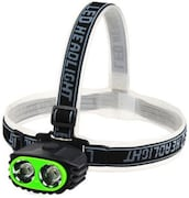 GVC High Brightness Lumens Head Lamp Emergency Light (Green)