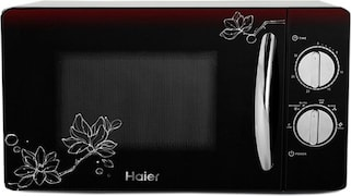 Haier HIL2001MFPH 20 L Solo Microwave Oven (Black)