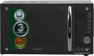 Haier HIL2080EGC 20 L Convention Microwave Oven (Silver)