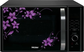Haier HIL3001CBSH 30 L Convection Microwave Oven (Black)
