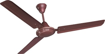Crompton Hill Briz Ceiling Fan (Brown)