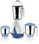 Philips HL7511 550W Mixer Grinder (White, 3 Jar)