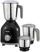 Philips HL7756/00 750 W Mixer Grinder (Black, 3 Jars)