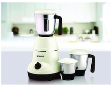 Borosil Home Star 500W Mixer Grinder (White, 3 Jar)