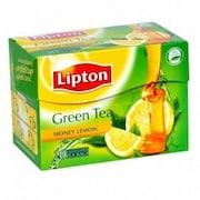 Lipton Honey Lemon Green Tea (Pack of 2, 25 Pieces)