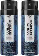 Wild Stone Hydra Energy Deodorant Combo (150ML, Pack of 2)