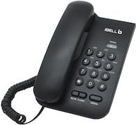iBELL IBLBP200 Corded Landline Phone (Black)