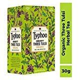 Typhoo Immunity Three Tulsi Organic Tea (30GM, 20 Pieces)
