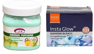 VLCC Insta Glow Diamond Beach (100GM, Pack of 2)
