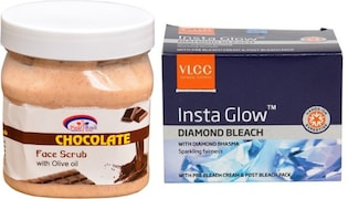 VLCC Insta Glow Diamond Beach (400GM, Pack of 4)