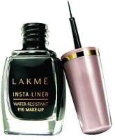 Lakme Insta-liner Water Resistant Eye Liner (Black, 9ML)