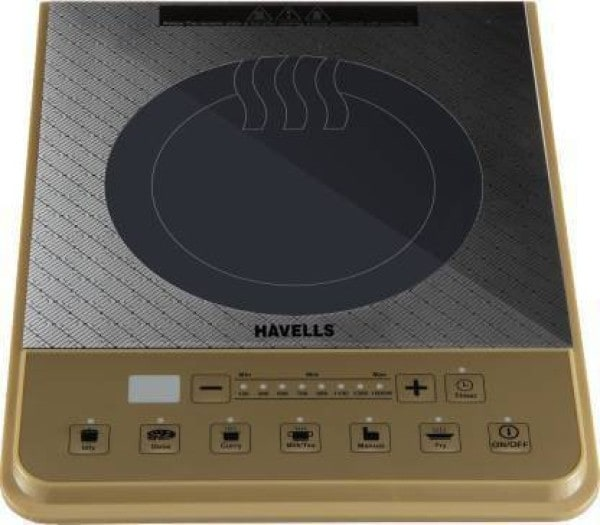 Havells Insta PT 1600 W Induction Cooktops (Gold)