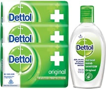 Dettol Instant Hand Sanitizer (125GM)