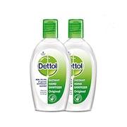 Dettol Instant Hand Sanitizer (50ML, Pack of 2)