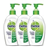 Dettol Instant Hand Sanitizer (200ML, Pack of 3)