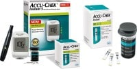 Accu-Chek Instant S Glucometer (10 Strips, White)
