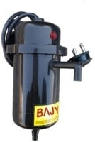 Bajya 1L Instant Water Geyser (Bio, Silver & Black)
