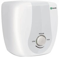 A.O. Smith 10L Instant Water Geyser (Sas, White & Silver)