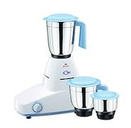 Bajaj Ion 500W Mixer Grinder (White, 3 Jar)