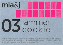 Mia&J Jammer Butter Cookie (140GM)