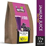 Nattfru Jamun Juice Powder (Jamun, 60GM, 4 Pieces)