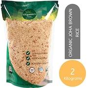 Organics Food Market Joha Brown Rice (2KG)