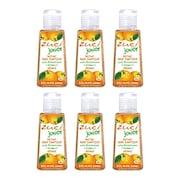 Zuci Junior Orange Hand Sanitizer (30ML, Pack of 6)