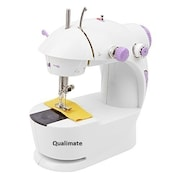 Qualimate K34 Electric Sewing Machine (White)
