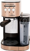 Morphy Richards Kaffeto Coffee Maker (Black & Gold)