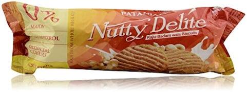 Patanjali Kaju And Badam Biscuits (100GM)