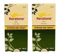 Dabur Keratone Hair Oil (200ML, Pack of 2)