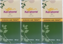 Dabur Keratone Hair Oil (100ML, Pack of 3)