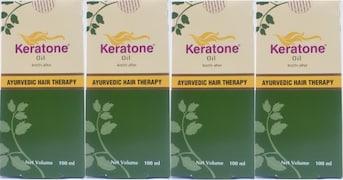 Dabur Keratone Hair Oil (400GM, Pack of 3)
