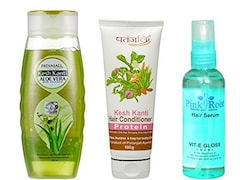 Patanjali Kesh Kanti Aloe Vera Shampoo (Pack of 3)