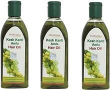 Patanjali Kesh Kanti Amla Hair Oil (200ML, Pack of 3)