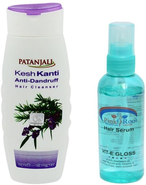 Patanjali Kesh Kanti Anti Dandruff Hair Cleanser (200ML)