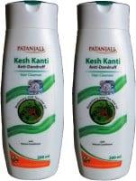 Patanjali Kesh Kanti Anti Dandruff Hair Cleanser (200ML, Pack of 2)