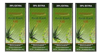 Patanjali Kesh Kanti Hair Oil (120ML, Pack of 4)