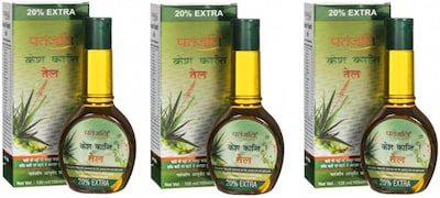 Patanjali Kesh Kanti Hair Oil (120ML, Pack of 3)