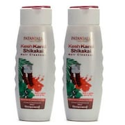 Patanjali Kesh Kanti Shikakai Hair Cleanser (100GM, Pack of 2)