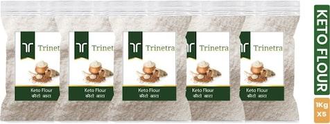 Trinetra Keto Multigrain Flour (1KG, Pack of 5)