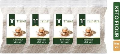 Trinetra Keto Multigrain Flour (1KG, Pack of 4)
